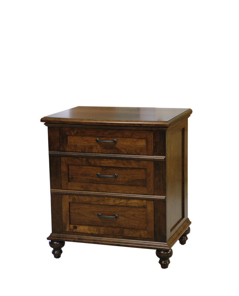 Plymouth nightstand amish valley products for House to home plymouth furniture