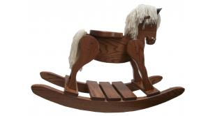 Amish Valley Products Oak Hobby / Rocking Horse