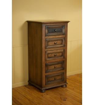 Canyon Creek Leather Collection Amish Furniture Lingerie Chest