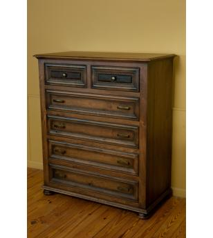 Canyon Creek Leather Collection Chest of Drawers
