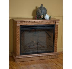 Amish Handcrafted Electric Fireplace