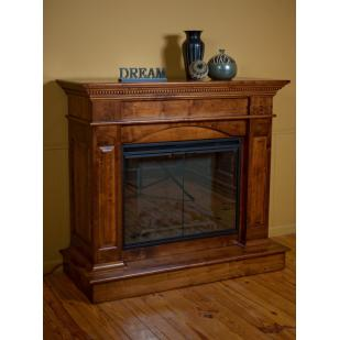 Amish Handcrafted Deluxe Fireplace