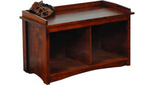 Amish Handcrafted Storage Bench