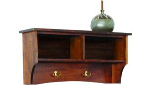 Amish Handcrafted Storage Shelf