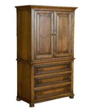 Canyon Creek Leather Collection Armoire