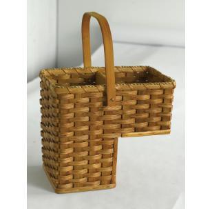 Amish Handwoven Baskets Step Basket