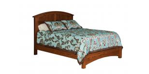 Buckeye Economy Panel Bed w/ Straight Footboard