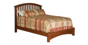 Buckeye Economy Slat Bed w/ Straight Footboard