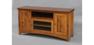Amish Valley Products Buckeye Economy Entertainment Stand