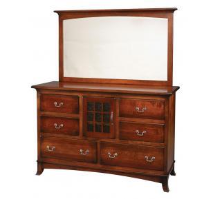 Edinburg Collection Dresser with Mirror
