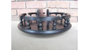 "14""  Amish Handcrafted lazy Susan Turn Table with Napkin Holder"