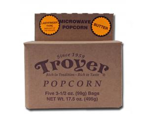 Ladyfinger Microwave Popcorn