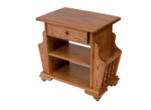 Amish Magazine Stand / End Table
