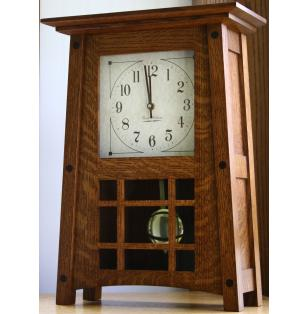 McCoy  Mantle Clock Amish Handcrafted