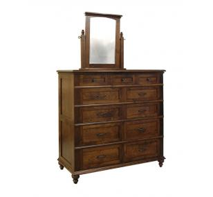 Plymouth Ladies Dressing Chest w/ Mirror