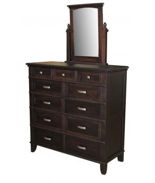 Plymouth Ladies Dressing Chest w/ Swivel Mirror