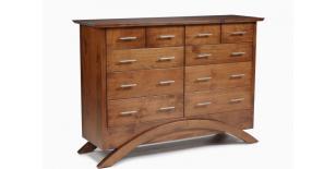 RuBeccal Parke Collection Tall Dresser