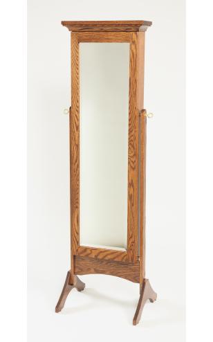 Mirror Bedroom Jewelry Armoire