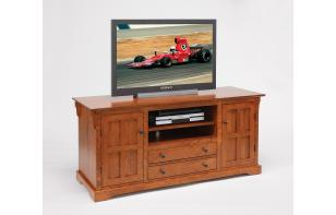 "60"" Amish Handcrafted Entertainment Center"