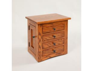 "17 1/2 "" Flush Mission Jewelry Chest"