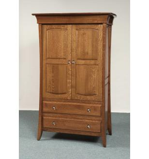 Banbury Collection Long Door Armoire