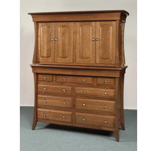 Banbury Collection Double Armoire Mule Chest