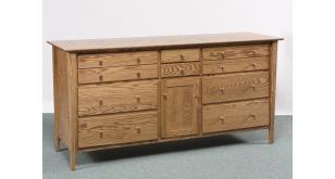 Sheffield Collection Triple Dresser Amish Furniture