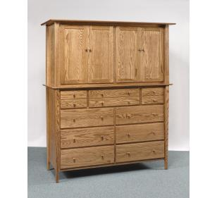 Sheffield Collection Double Armoire Mule Chest