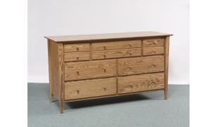 Sheffield Collection Double Dresser Amish Furniture