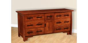 Great River Collection Triple Dresser Amish Furniture
