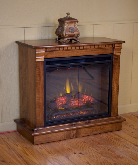 Electric Fireplace Amish Valley Products