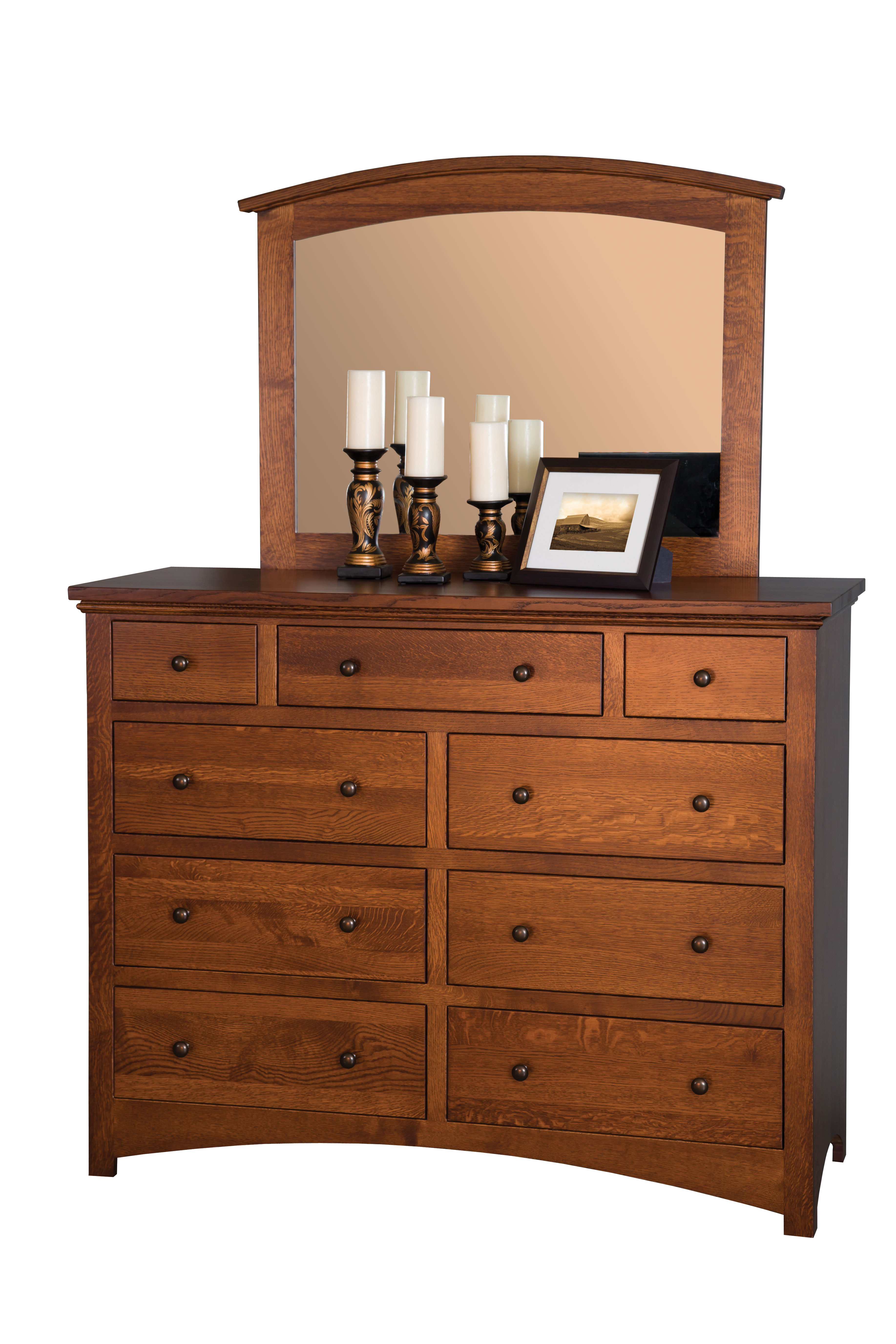 Buckeye economy dresser amish valley products for Amish furniture home of economy
