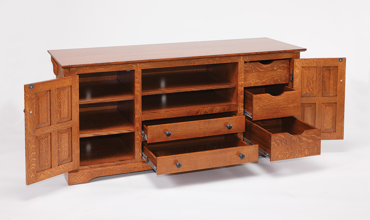 60 Quot Tv Entertainment Unit Amish Valley Products