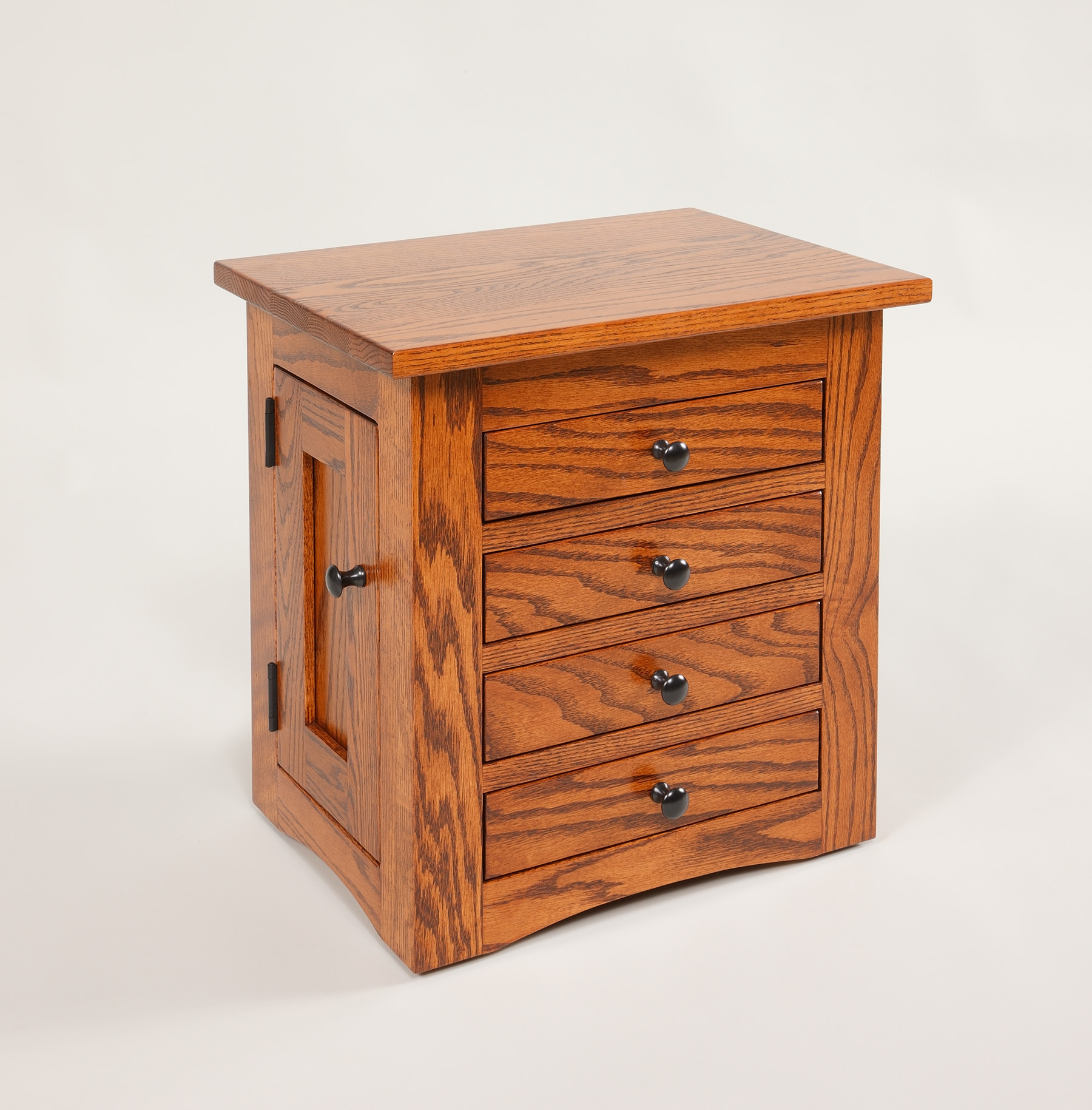 Flush Mission Jewelry Dresser Chest Amish Valley Products